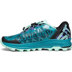 saucony Koa ST Shoes Women Green/Black/Aqua